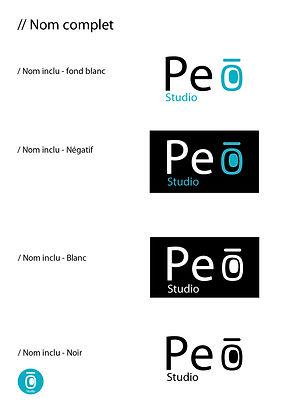 Charte graphique Peo Std logos noms comp