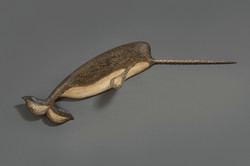 WALL-MOUNTED NARWHAL