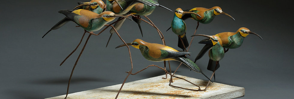 BEE EATERS AT REST