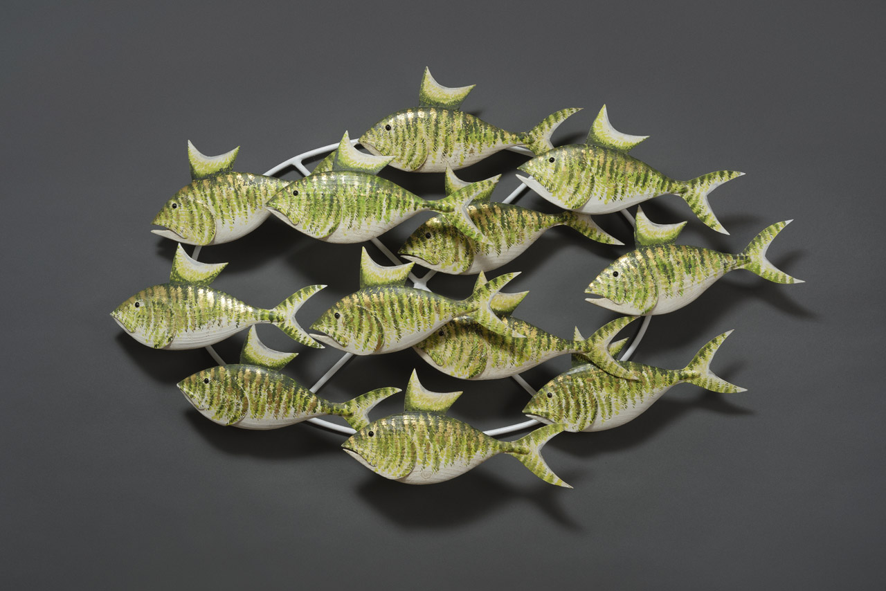 GREEN AND GOLD SHOAL