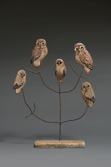 LITTLE OWL FAMILY SILHOUETTES