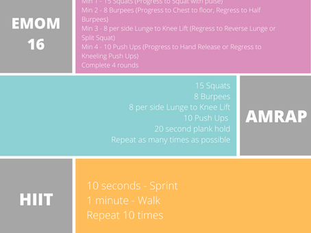 EMOM, AMRAP, HIIT - What Are They?