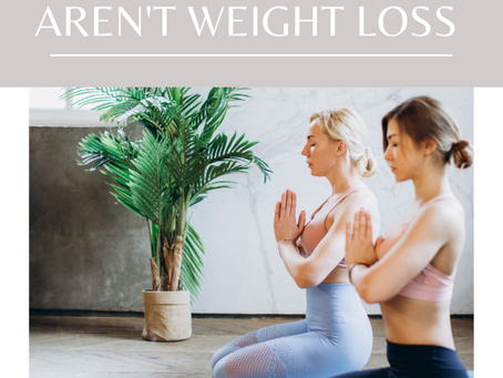 Reasons to Exercise that aren't Weight Loss