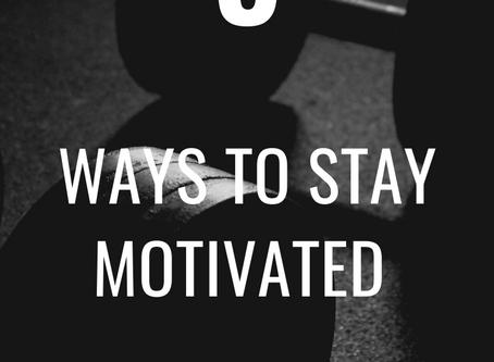 5 Tips For Motivation