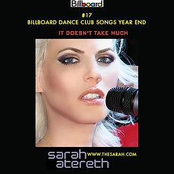 Sarah Atereth #17 It Doesn't Take Much Billboard Dance Club Songs Year End.jpg