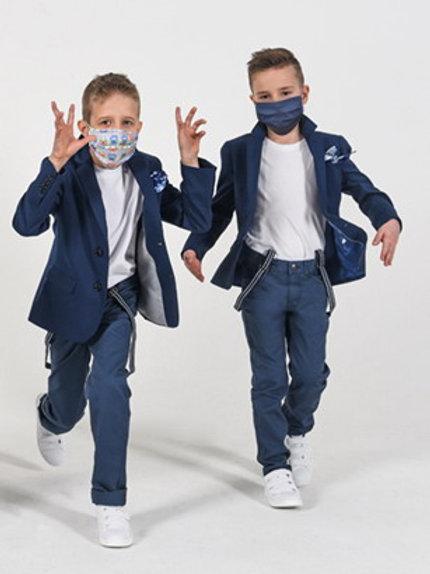 KIDS - Stoffmaske - zum mehrmaligen Einsatz im 5er Pack