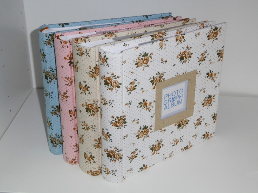 Flower print-window Book bound