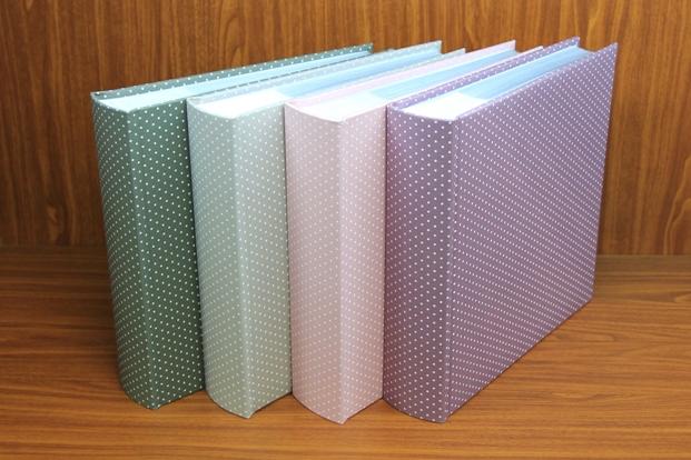 Dot Print cotton-Book bound