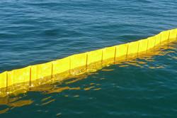 barriera galleggiante antinquinament