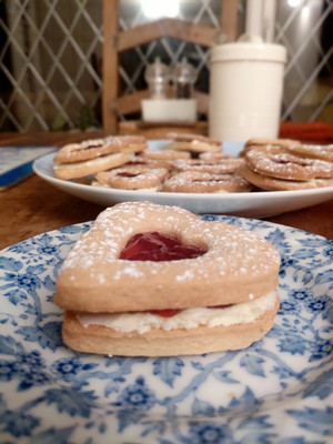 Karen's Bake off Challenge Week 2: Jammy Biscuits