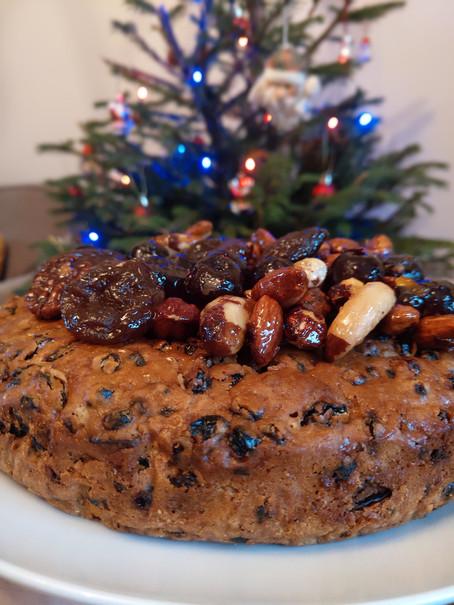 Finally here! Karen's Christmas Cake Recipe (vegan friendly)