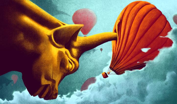 Wall Street Deflating Start Ups