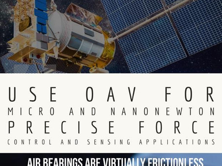OAV for nanonewton and micro force control applications and testing