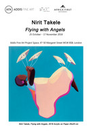 "Invitation. Solo exhibition ""Flying with Angels"", Tafeta, Addis Fine Art Project Space, Lo"