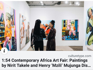 Culture Type | 1:54 Contemporary Africa Art Fair: Paintings by Nirit Takele and Henry 'Mzili' Mujung