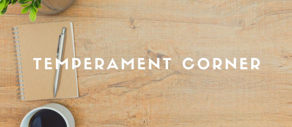 Temperament Corner: January/ February