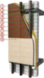 Ronson 100 - flat panels ventilated facade