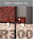 Ronson 300, gres- visible fastening