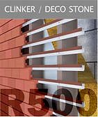 Ronson 500, clinker and decorative stone