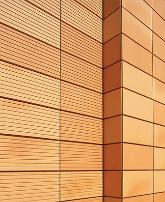 Ronson 400, terracotta suspended ventilated facade system