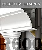 Ronson 600, decorative facade elements
