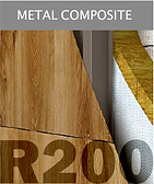 Ronson 200, metal composite panels