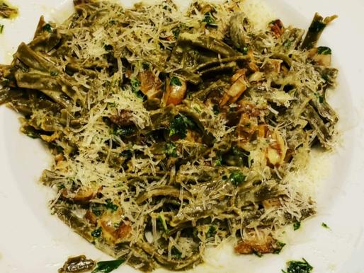 Oyster Mushroom Pasta