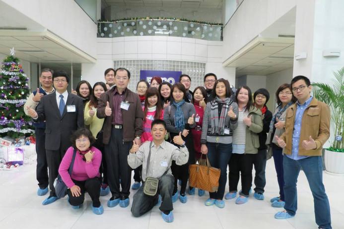 103學年度企業參訪(明基材料)