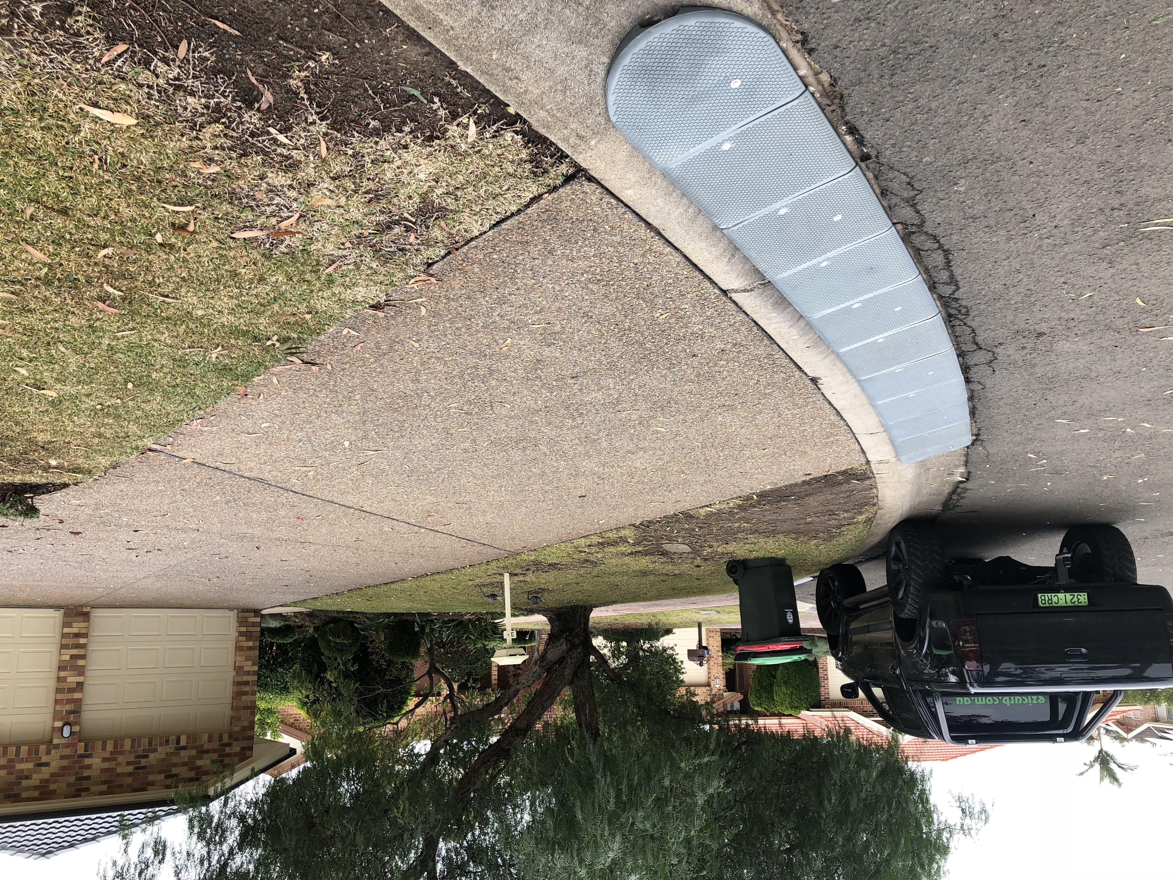 GALLERY | Ezi-Curb Driveway ramp for straight and curved