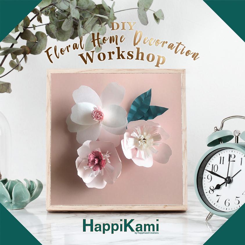 DIY Floral Home Decoration Workshop