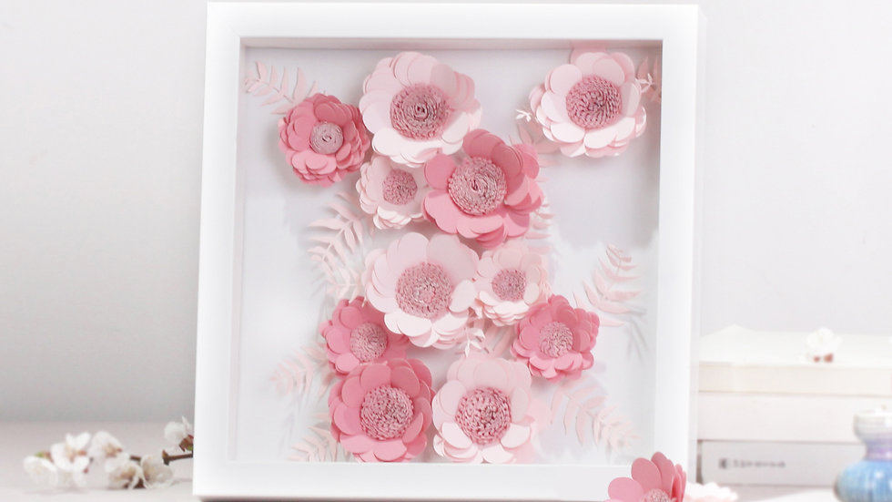 DIY Flower Kit set (Pink)