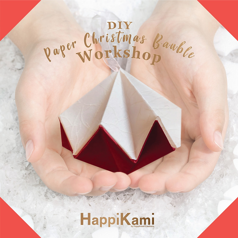 DIY Paper Christmas Bauble Workshop