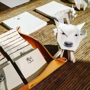Customised Bison Origami Workshop for Il Bisonte