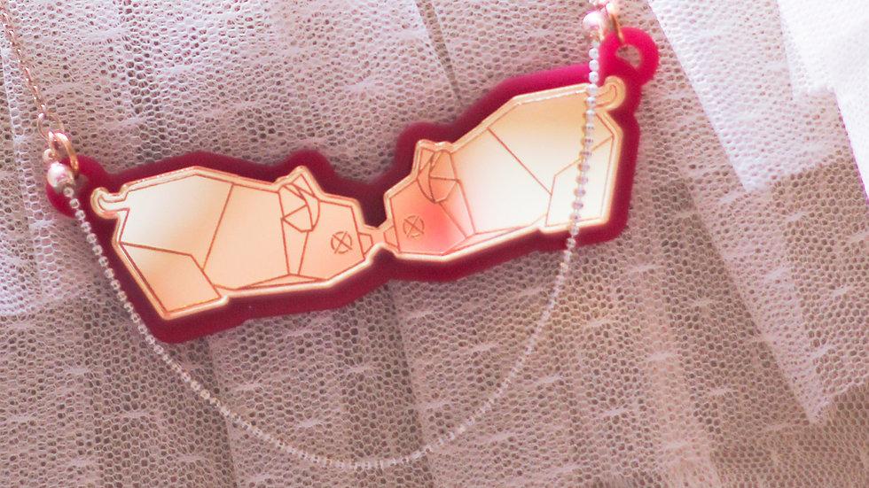 Happi-Piggy Necklace