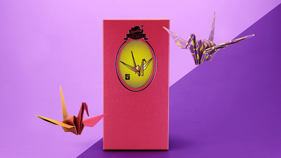 Happi-Crane Origami Envelop 摺紙利市封(紙鶴)
