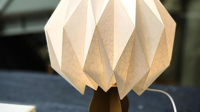 Origami Lamp workshop (6 May 2:00 - 3:30)