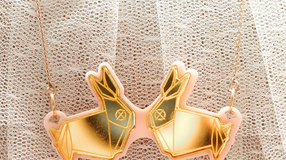 Happi-Bunny Necklace
