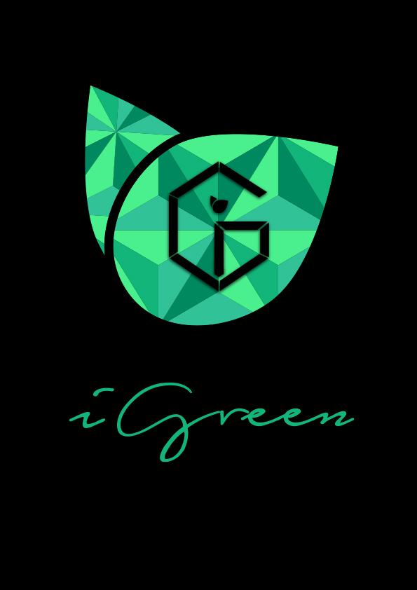 Logo on black Background