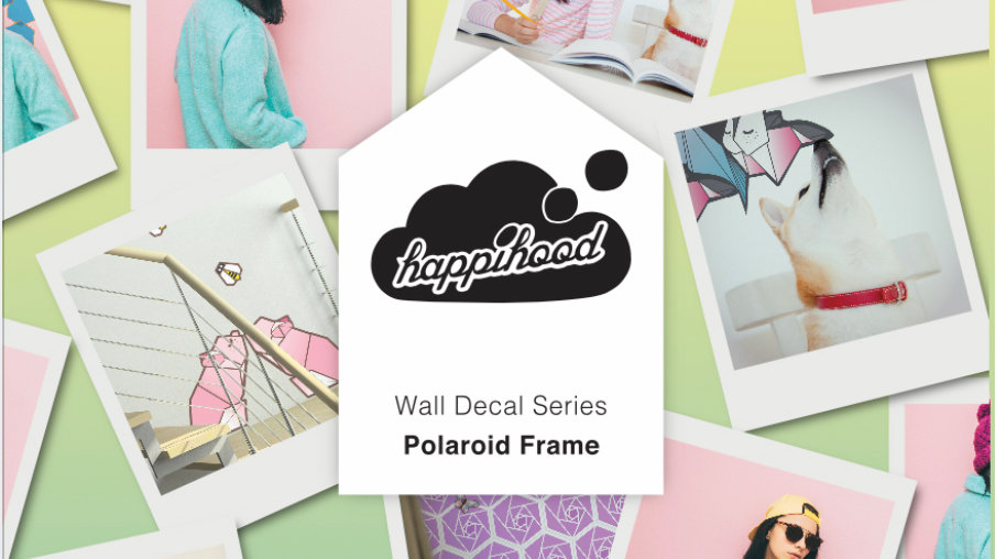 Polaroid Frame Static Wall Sticker
