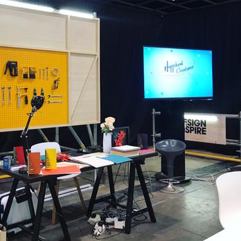 DIY Paper Floral workshop at Design Inspire