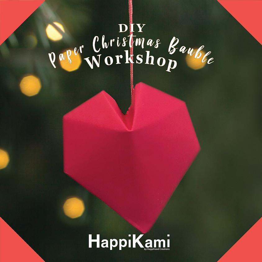 DIY Paper Christmas Bauble Workshop 3