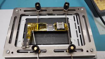 Ремонт iPhone 6, перепайка sim считывателя