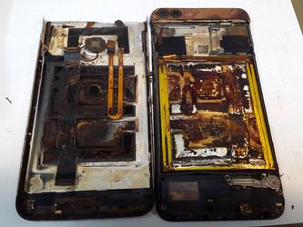 Huawei P smart (Figo-L31) против серной кислоты