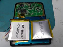 Ремонт PocketBook 614, замена аккумулятора