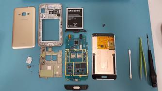Ремонт утопленника Samsung SM-J120F