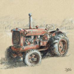 Old Stratford Farm Tractor