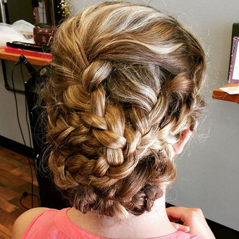 Wedding hair!! #redkenobsessed #tisthese