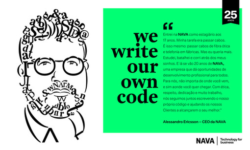 We Write Our Own Code