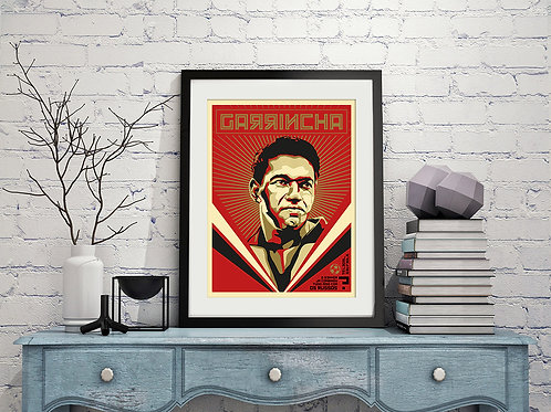 Mané Garrincha e os Russos