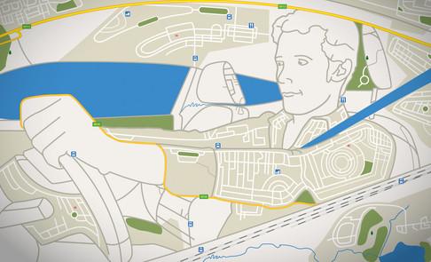 Ilustração GPS